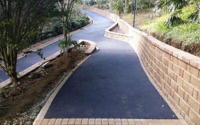Racecourse Walk Track Improvements